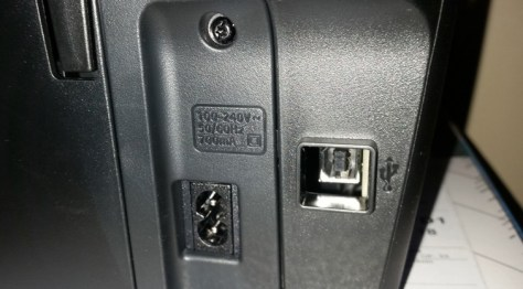 HP Envy photo 7120 USB connection