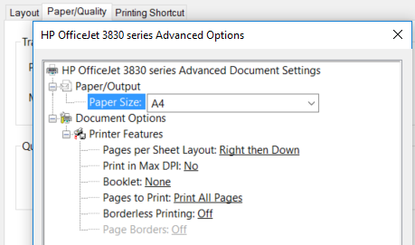 HP OfficeJet 3830 Will not print color