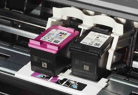 HP OfficeJet 4650 Ink Cartridge Replacement
