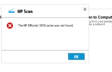 HP Officejet 3830 troubleshooting