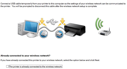 HP Officejet Pro 8710 USB Printer Setup