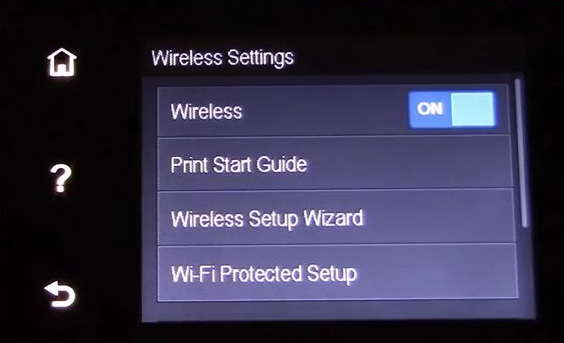 HP Officejet 4650 wireless setup