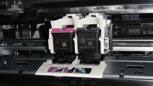 Replace Ink Cartridge On HP Officejet 3830