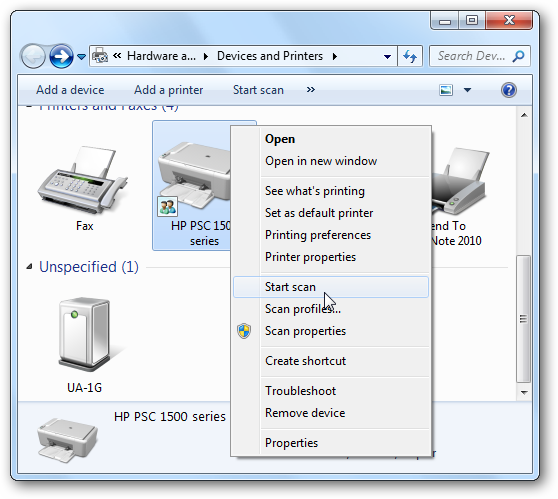 How to Scan HP Officejet 5255