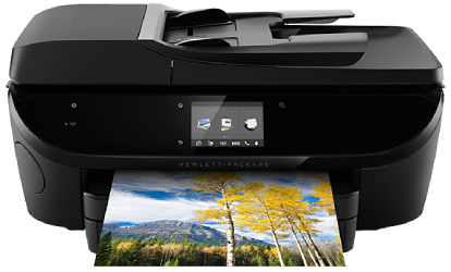 123 hp Envy 7640 printer