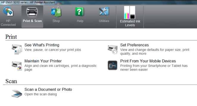How To Scan HP Envy 5010