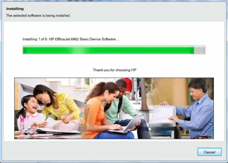 How to Install driver for HP OfficeJet 6962