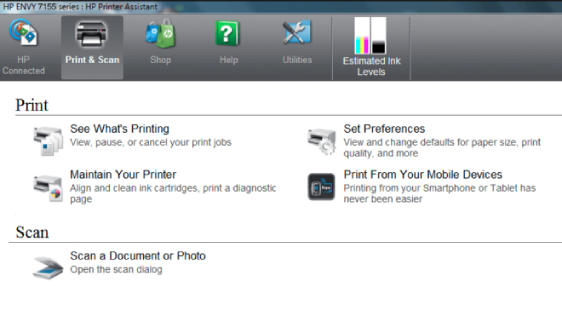 How to Scan on HP Envy 7155